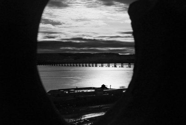 Dundee Reflections Tay Bridge Old Steeple