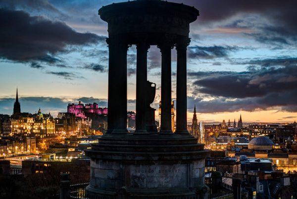 Location Photography Edinburgh Calton Hill