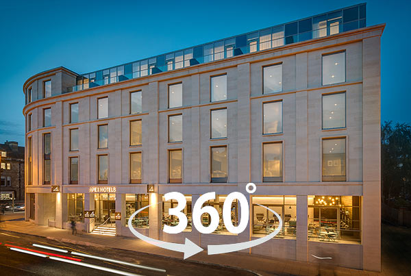 360VR Tour Apex City of Bath Hotel